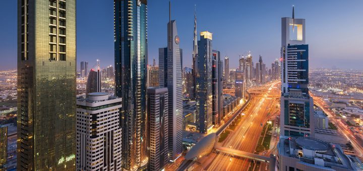 Donald Yip Dubai Skyline