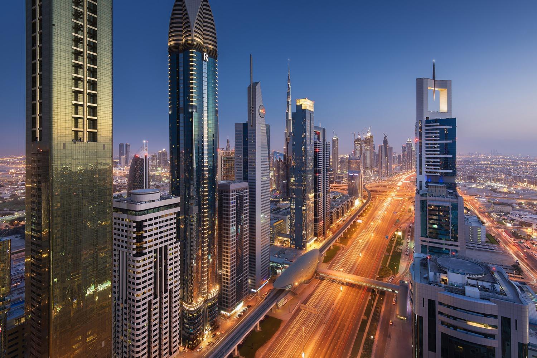 Dubai Sheikh Zayed Donald Yip