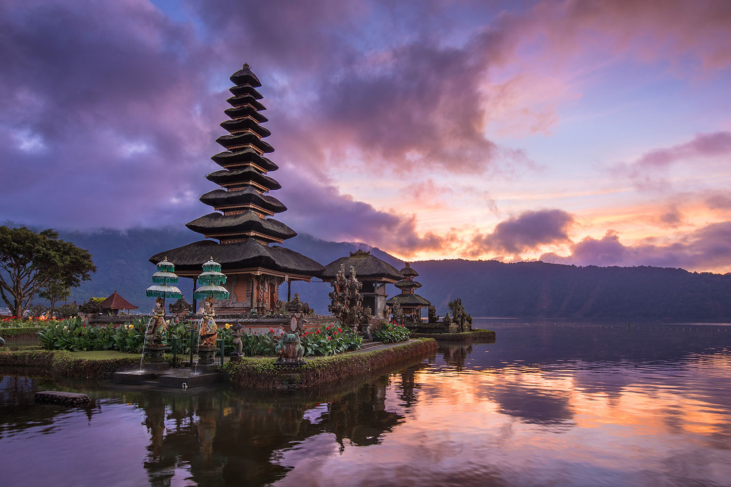 Bali water temple Donald Yip