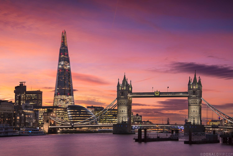Tower Bridge London Shard