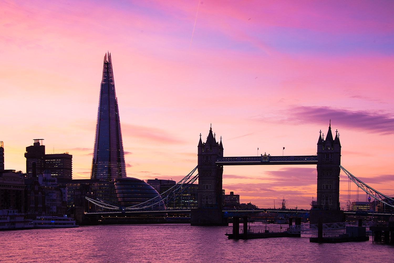 Tower Bridge London Before