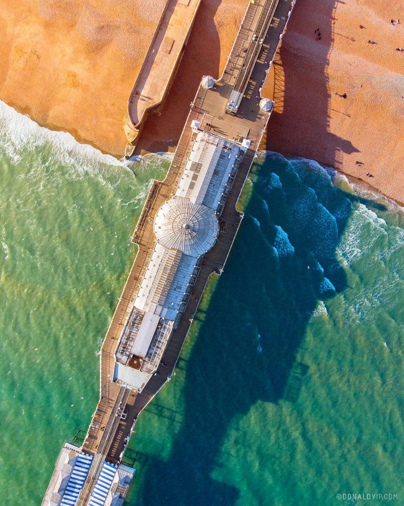 brighton drone pier