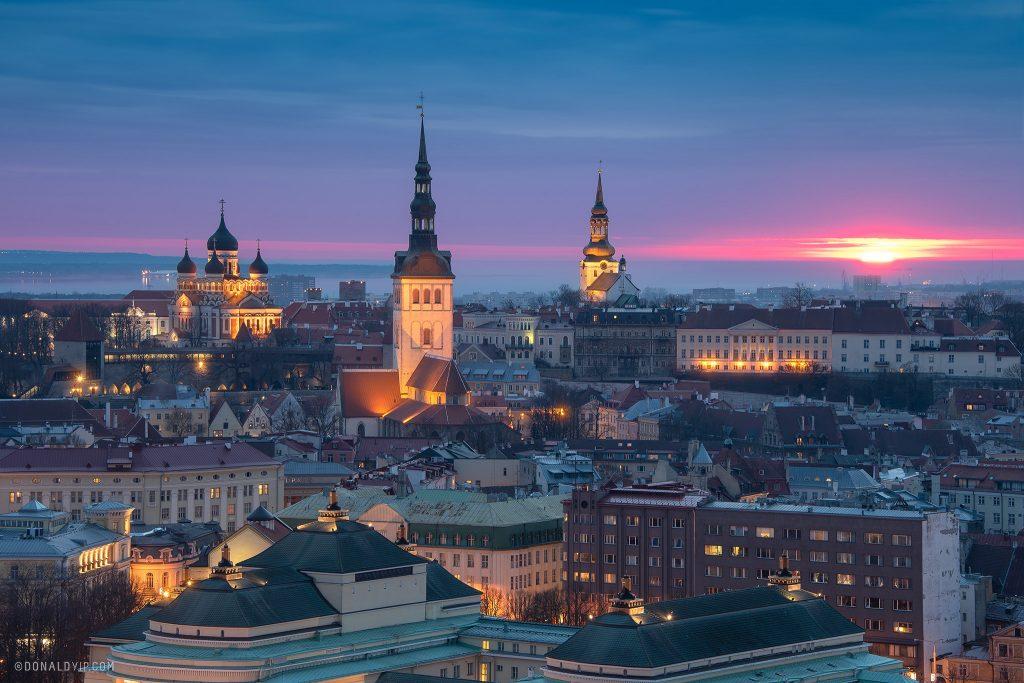 Tallinn estonia donald yip