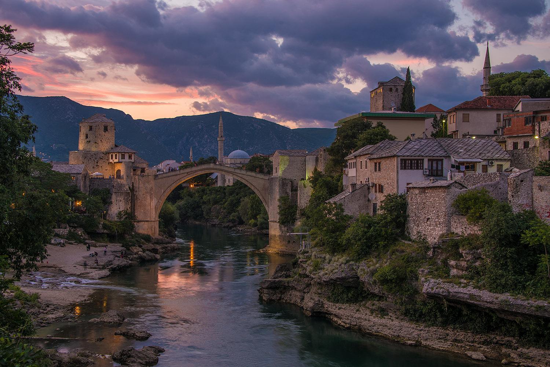 Donald Yip Mostar Stari Most